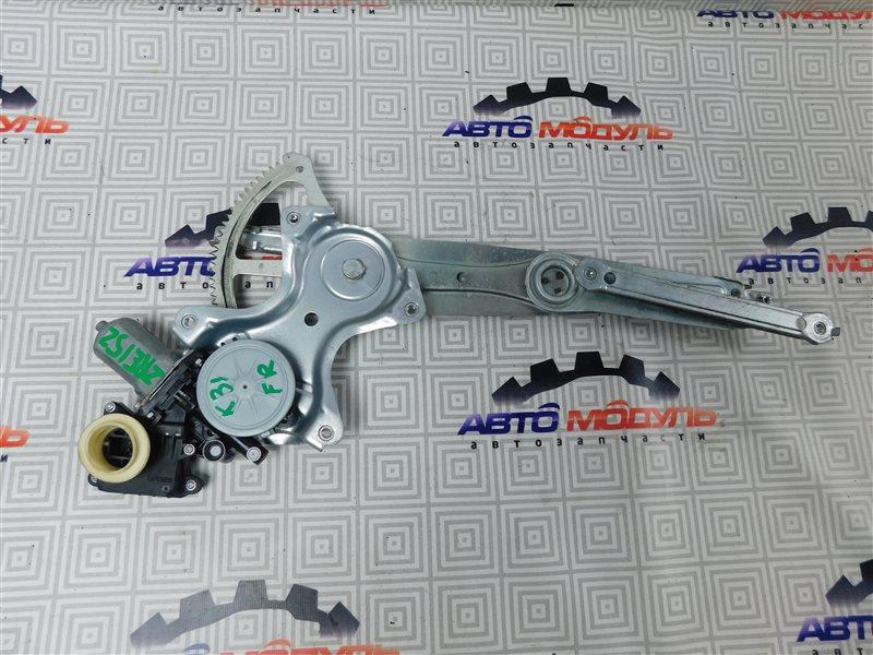 Стеклоподъемник Toyota Corolla Rumion ZRE152-1108791 2ZR-FE 2009 передний правый