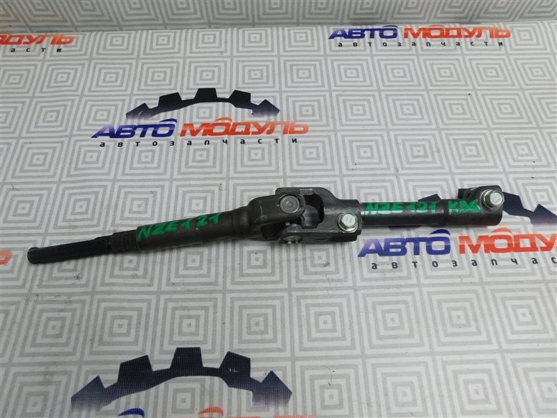 Карданчик рулевой Toyota Corolla Runx NZE121-5020454 1NZ-FE 2002 нижний