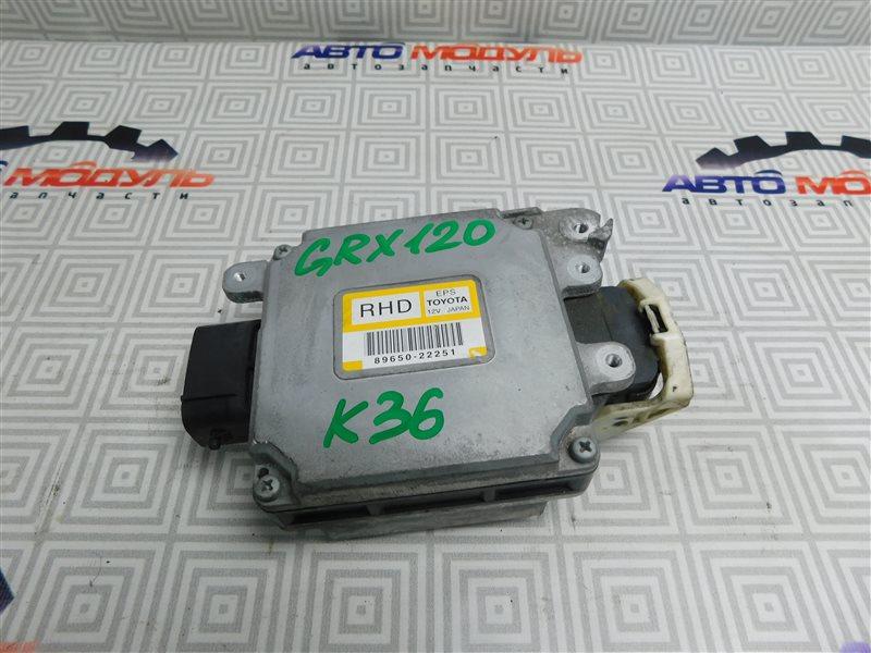 Блок управления рулевой рейкой Toyota Mark X GRX120-0069636 4GR-FSE 2006