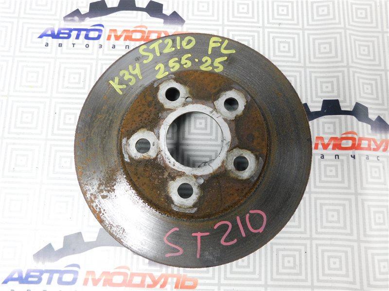 Диск тормозной Toyota Caldina ST210-4002125 3S-FE 1997 передний