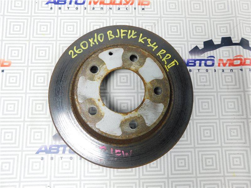 Диск тормозной Mazda Familia S-Wagon BJFW-300316 FS 2002 задний