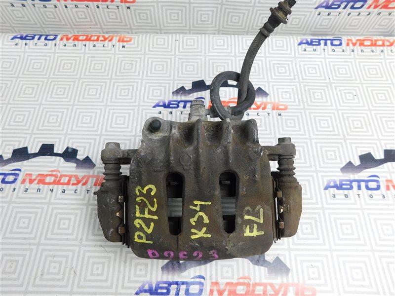 Суппорт Nissan Atlas P2F23-057113 TD27 2001 передний левый