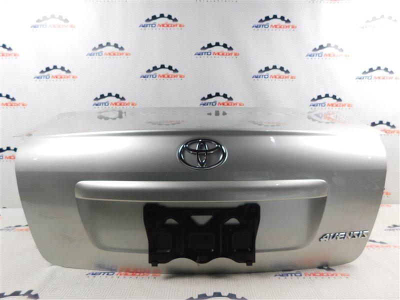 Крышка багажника Toyota Avensis AZT250-0014000 1AZ-FSE 2004 задняя