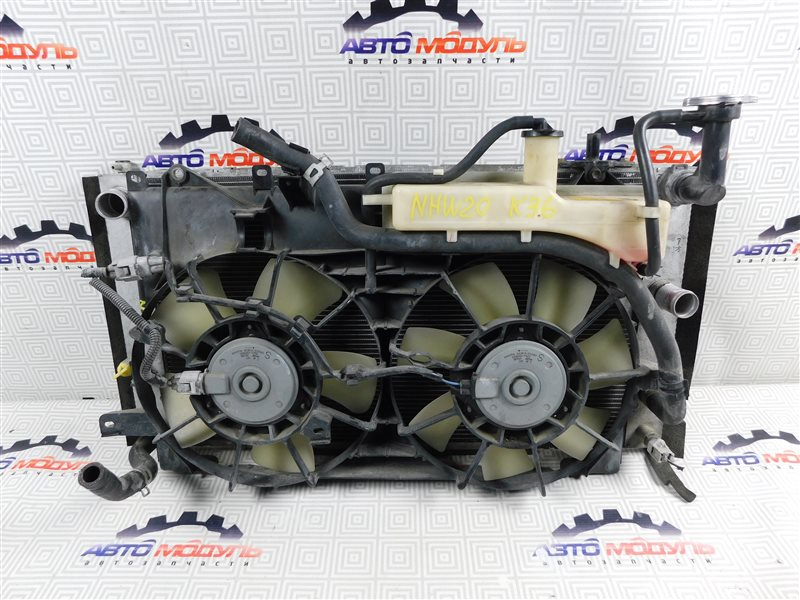 Радиатор основной Toyota Prius NHW20-0067499 1NZ-FXE 2004