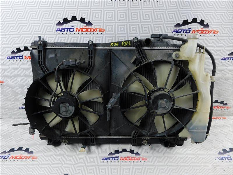 Радиатор основной Honda Stream RN1-2100054 D17A