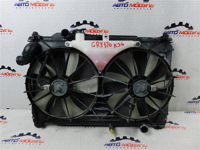 Радиатор основной Toyota Mark X GRX120-0069636 4GR-FSE 2006