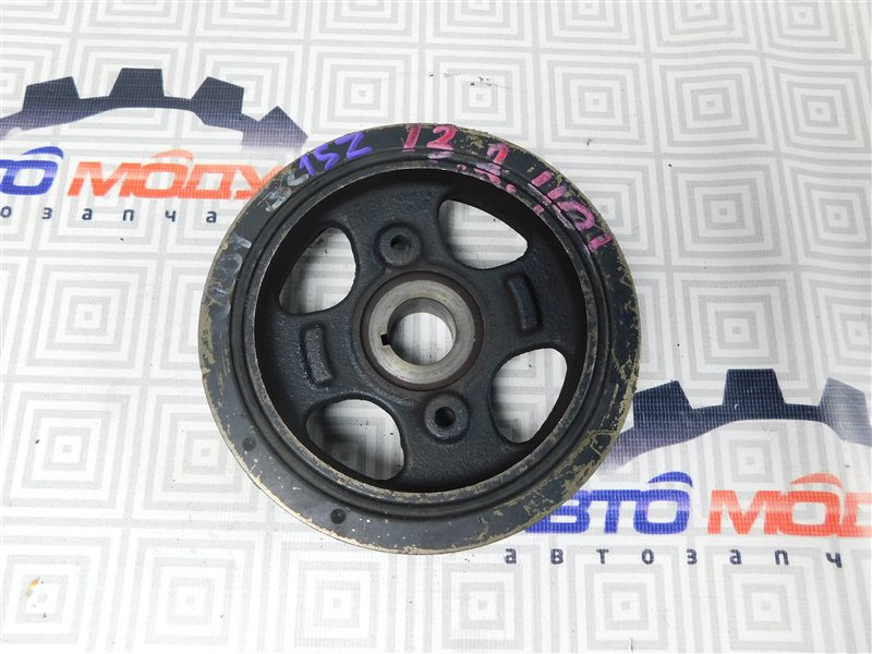 Шкив коленвала Toyota Platz SCP10 1SZ-FE