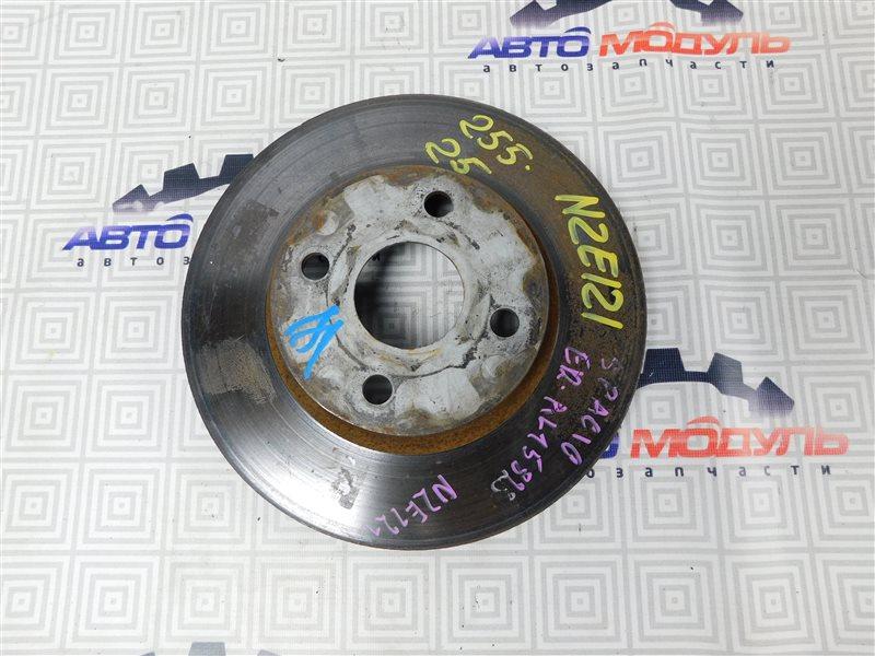 Диск тормозной Toyota Corolla Spacio NZE124 передний