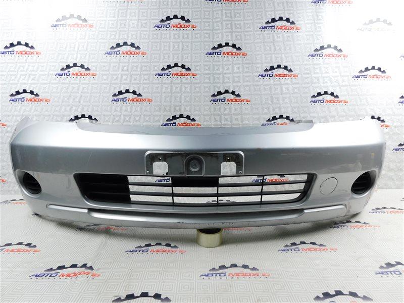 Бампер Toyota Ist NCP60-0238673 2NZ-FE 2006 передний
