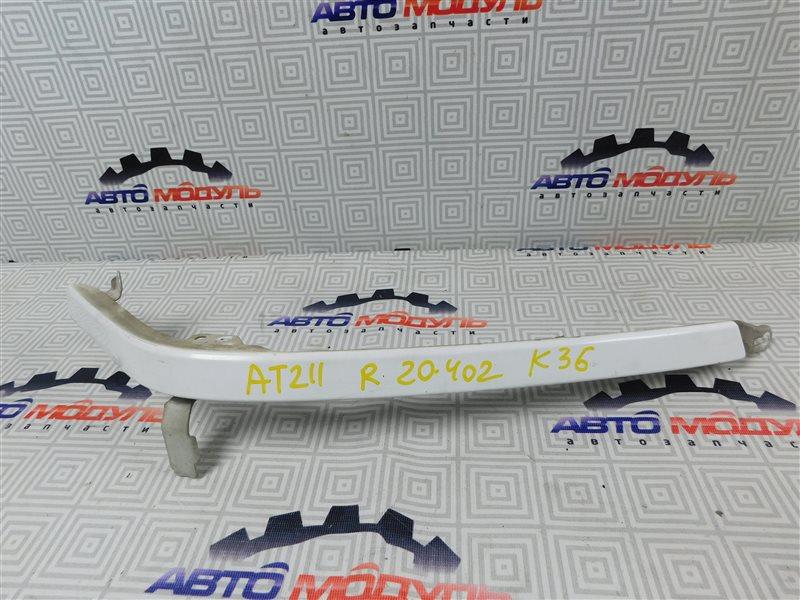 Планка под фары Toyota Carina AT211-6065783 7A-FE 2000 передняя правая