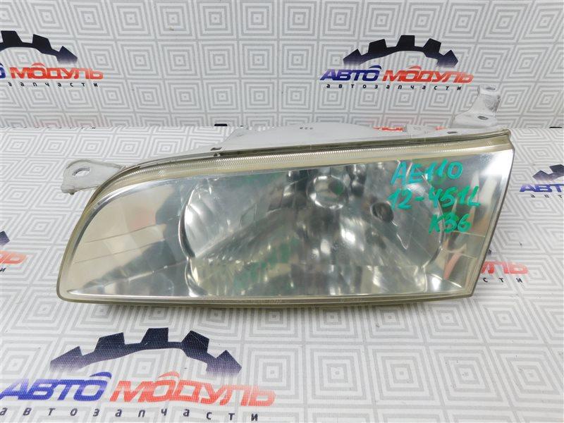 Фара Toyota Sprinter AE110-3016653 5A-FE 1999 левая