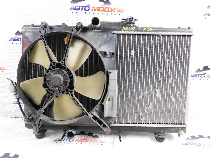 Радиатор основной Toyota Sprinter AE110-3016653 5A-FE 1999