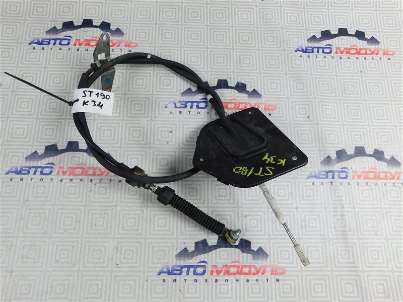 Трос переключения акпп Toyota Caldina ST191-4039168 3S-FE 1996