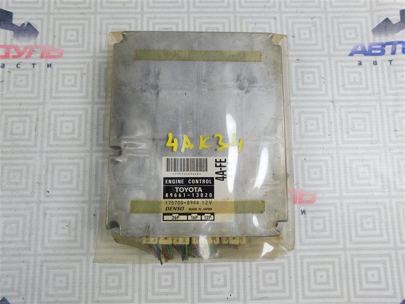 Компьютер двс Toyota Corolla Spacio AE111-6120547 4A-FE 1999