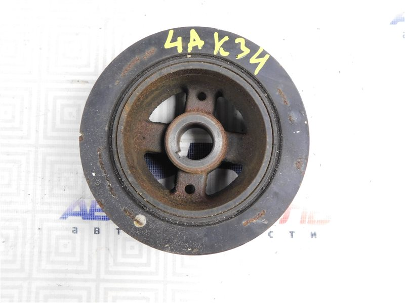 Шкив коленвала Toyota Corolla Spacio AE111-6120547 4A-FE 1999