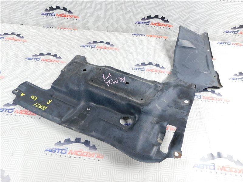 Защита двигателя Toyota Ipsum ACM21-0053493 2AZ-FE 2005 передняя правая