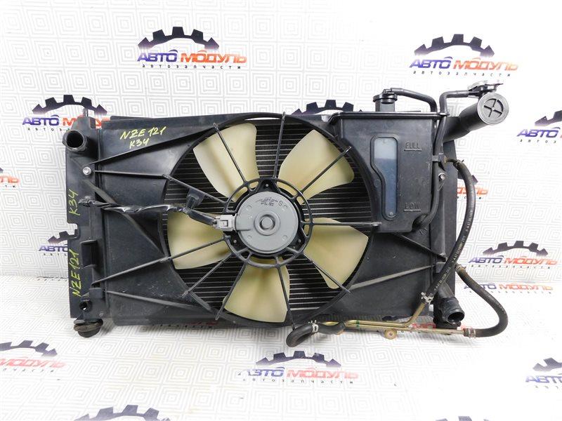 Радиатор основной Toyota Corolla Runx NZE121-5071169 1NZ-FE 2003