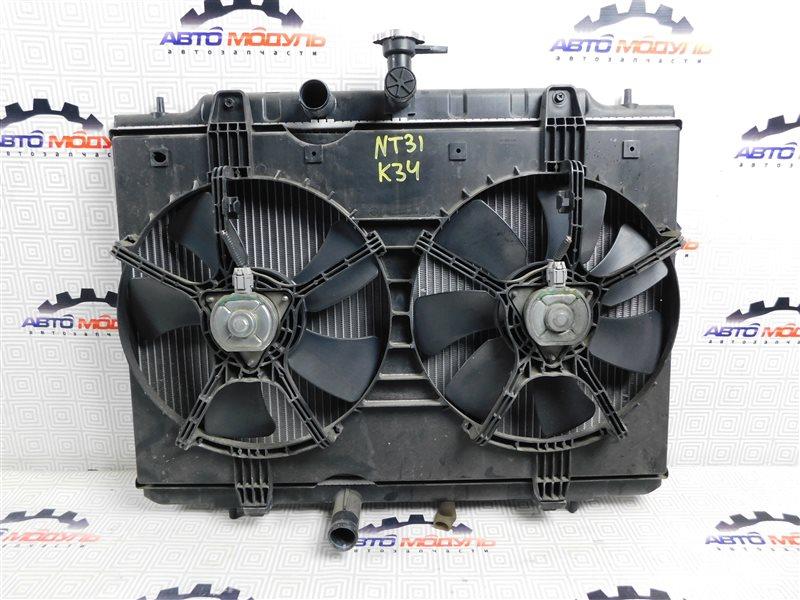 Радиатор основной Nissan X-Trail NT31-000035 MR20-DE 2007