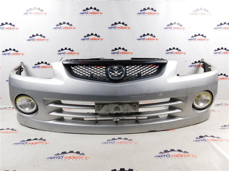 Бампер Mazda Familia S-Wagon BJFW-104603 FS 2000 передний