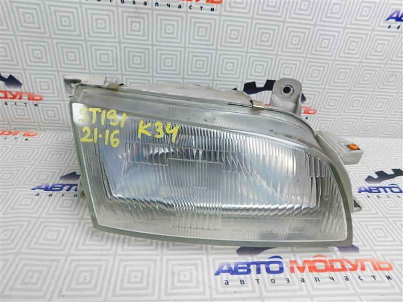 Фара Toyota Caldina ST191-4039168 3S-FE 1996 правая