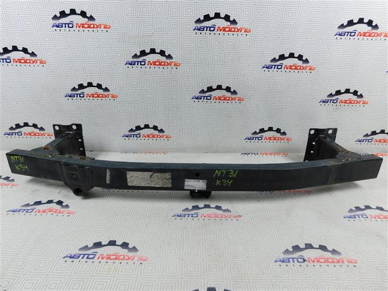 Усилитель бампера Nissan X-Trail NT31-000035 MR20-DE 2007 передний