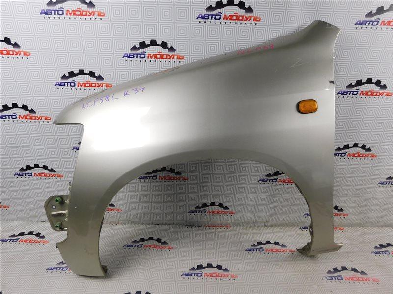 Крыло Toyota Probox NCP58-0022872 1NZ-FE 2003 переднее левое