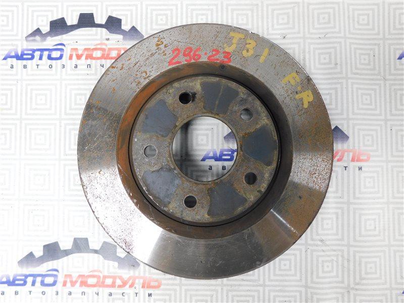 Диск тормозной Nissan Teana J31 VQ23 передний