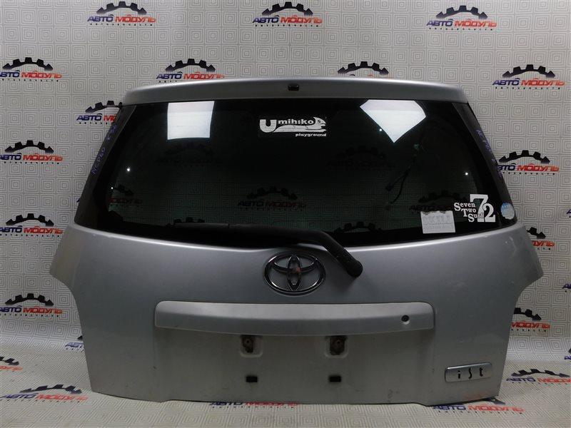 Дверь 5-я Toyota Ist NCP60-0238673 2NZ-FE 2006 задняя