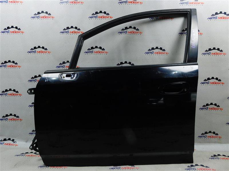 Стекло двери Honda Stream RN1-2100054 D17A переднее левое