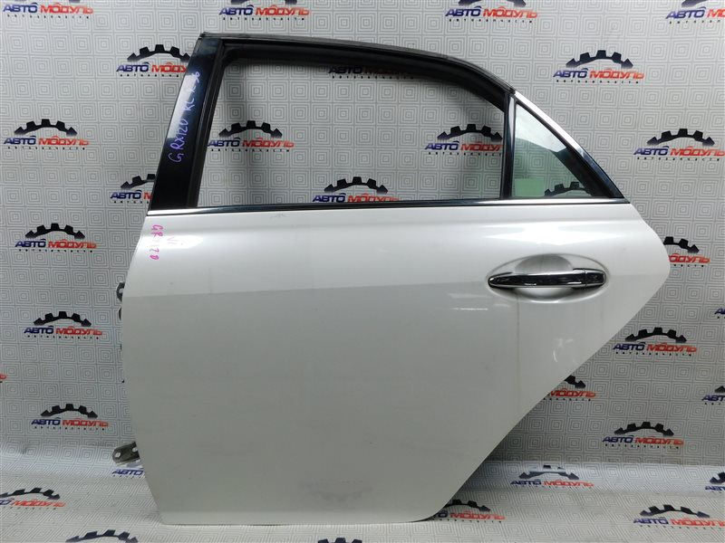Дверь Toyota Mark X GRX120-0069636 4GR-FSE 2006 задняя левая