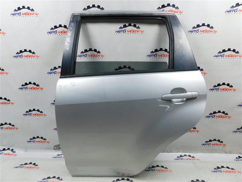 Дверь Toyota Ist NCP60-0238673 2NZ-FE 2006 задняя левая