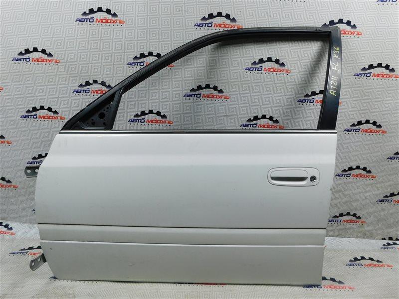Дверь Toyota Carina AT211-6065783 7A-FE 2000 передняя левая