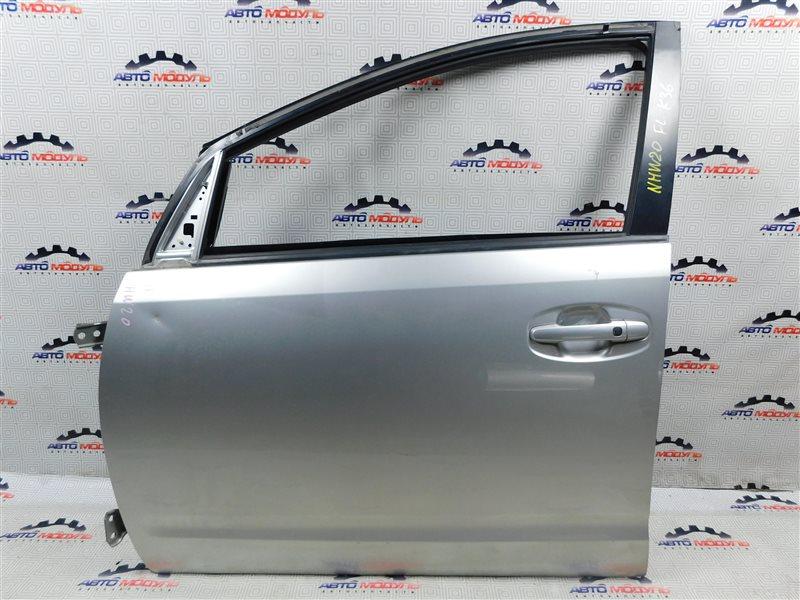 Дверь Toyota Prius NHW20-0067499 1NZ-FXE 2004 передняя левая