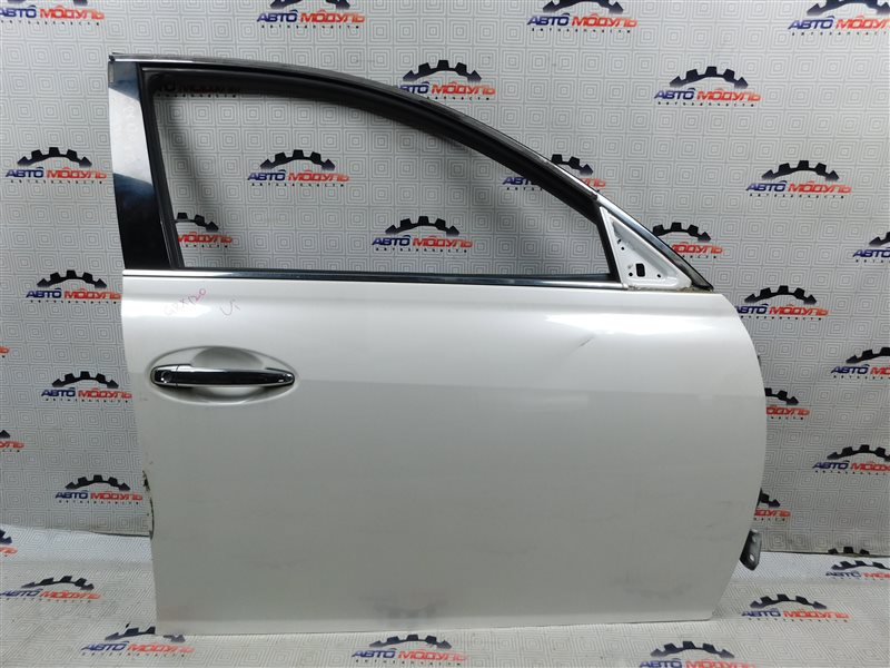 Дверь Toyota Mark X GRX120-0069636 4GR-FSE 2006 передняя правая