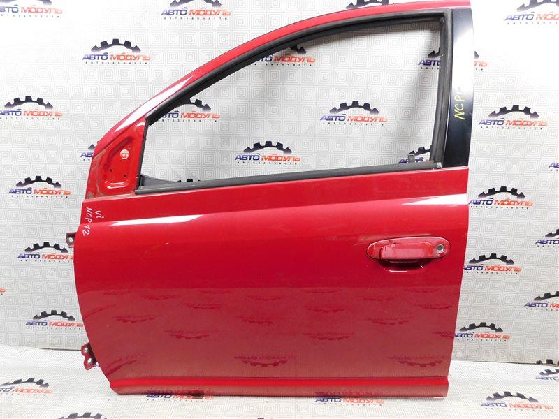 Дверь Toyota Platz NCP12 передняя левая
