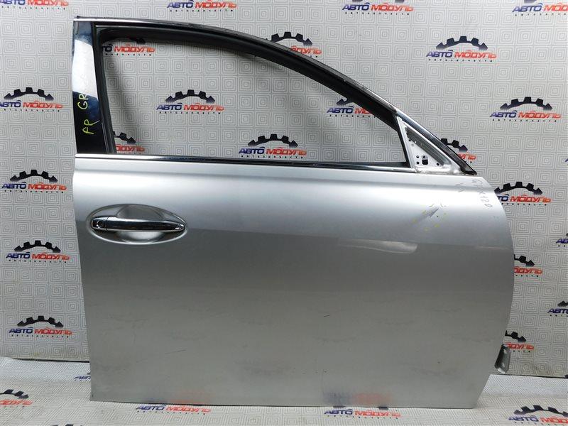 Дверь Toyota Mark X GRX120 3GR-FSE передняя правая