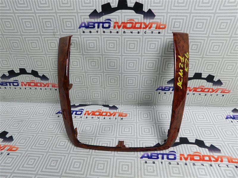 Консоль магнитофона Toyota Ipsum ACM21-0053493 2AZ-FE 2005