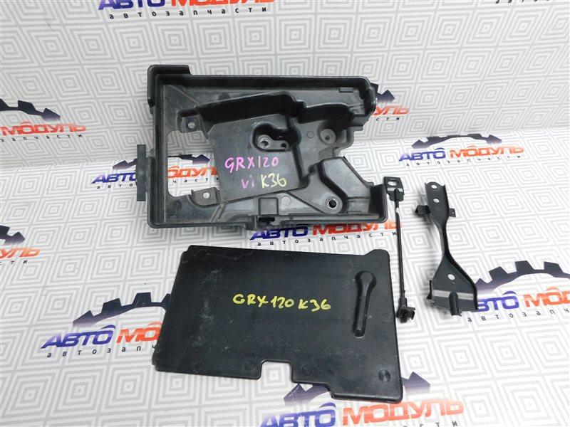 Крепление аккумулятора Toyota Mark X GRX120-0069636 4GR-FSE 2006