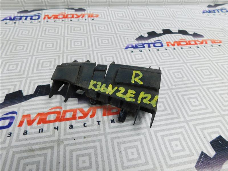 Крепление бампера Toyota Corolla Runx NZE121-5020454 1NZ-FE 2002 заднее правое