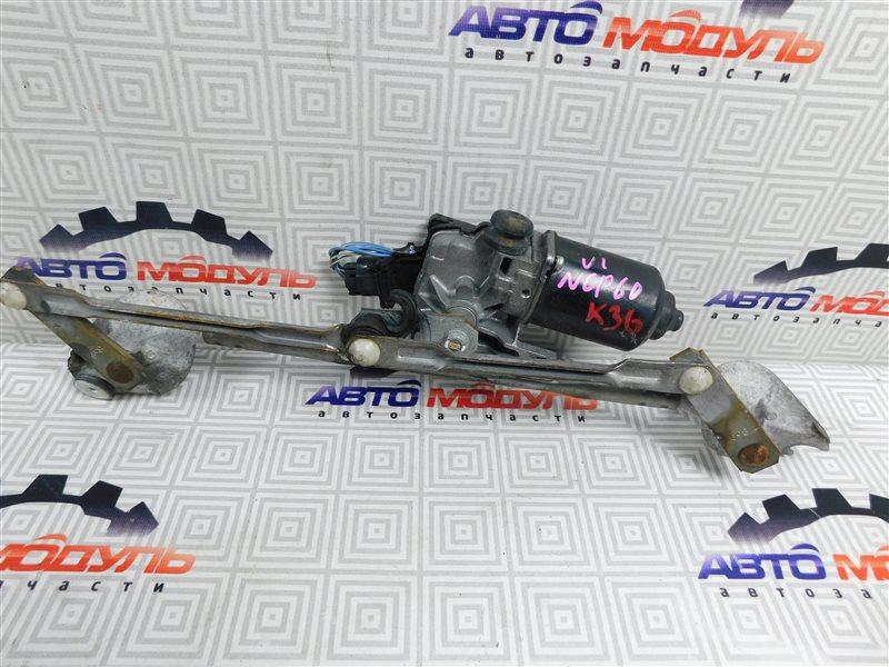 Мотор дворников Toyota Ist NCP60-0238673 2NZ-FE 2006 передний