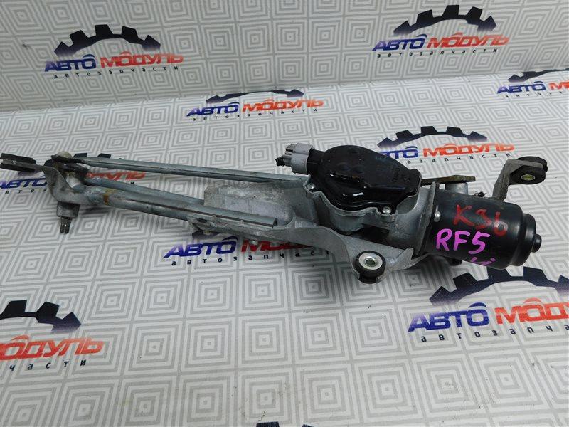 Мотор дворников Honda Step Wagon RF5-1107085 K20A передний