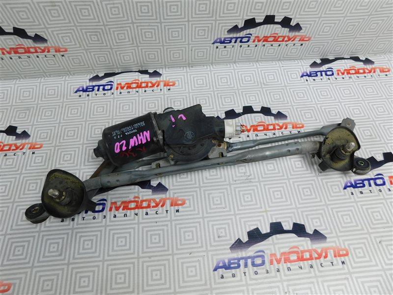 Мотор дворников Toyota Prius NHW20-0067499 1NZ-FXE 2004 передний