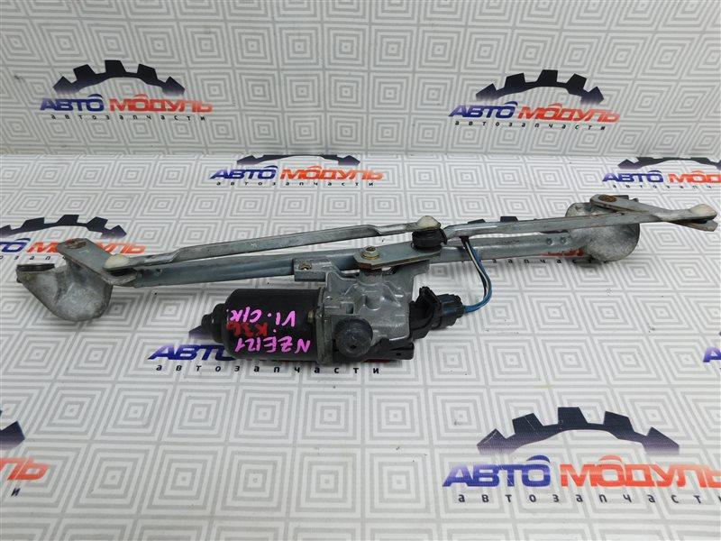 Мотор дворников Toyota Corolla Runx NZE121-5020454 1NZ-FE 2002 передний