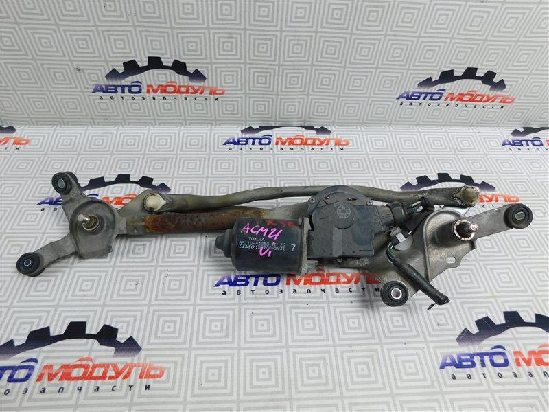 Мотор дворников Toyota Ipsum ACM21-0053493 2AZ-FE 2005 передний