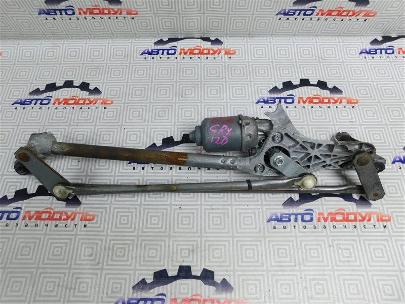 Мотор дворников Toyota Mark X GRX120-0069636 4GR-FSE 2006 передний