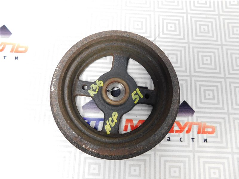 Шкив коленвала Toyota Probox NCP51-0259558 1NZ-FE 2011