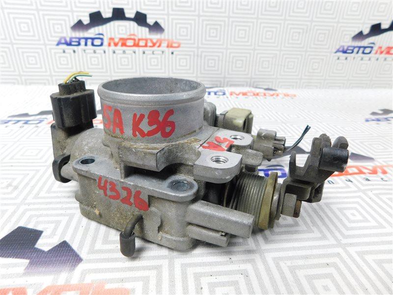 Дроссельная заслонка Toyota Sprinter AE110-3016653 5A-FE 1999