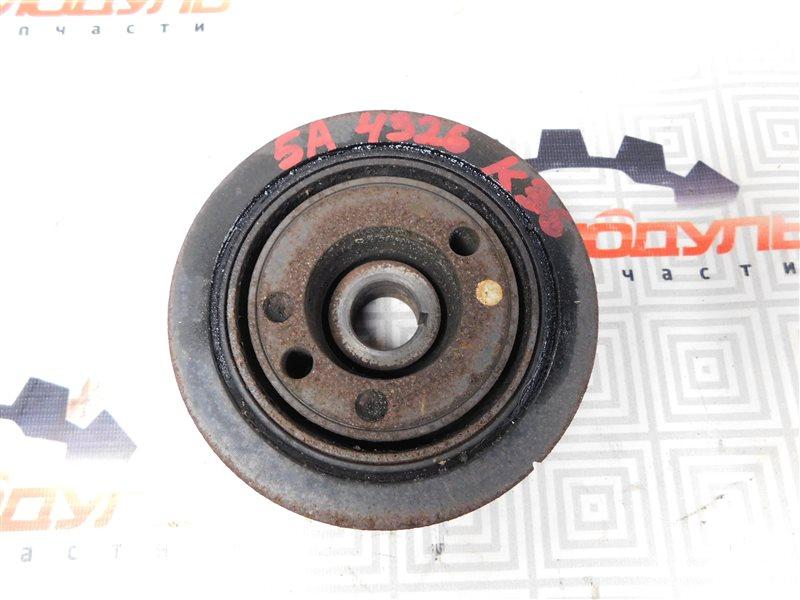 Шкив коленвала Toyota Sprinter AE110-3016653 5A-FE 1999