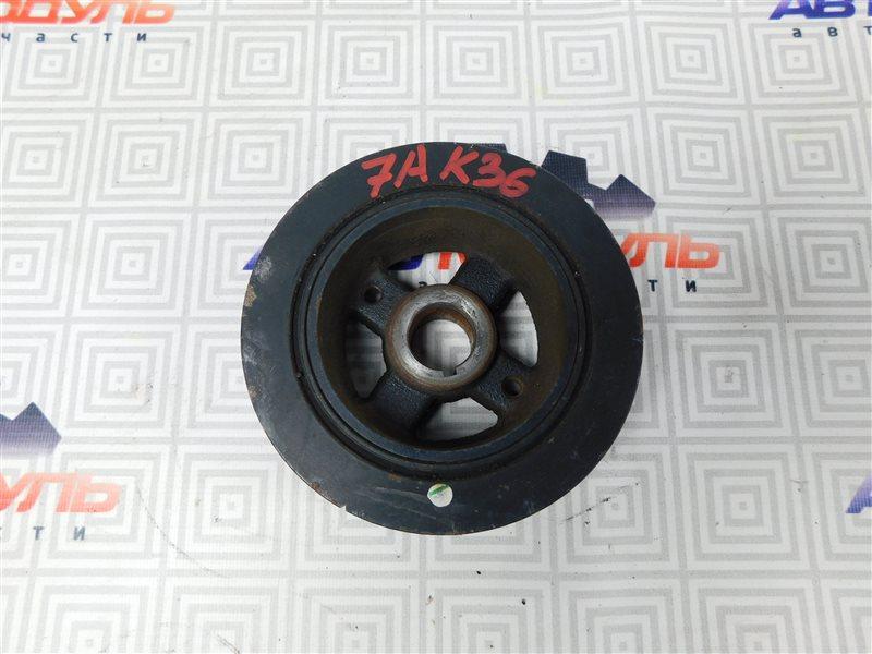 Шкив коленвала Toyota Carina AT211-6065783 7A-FE 2000