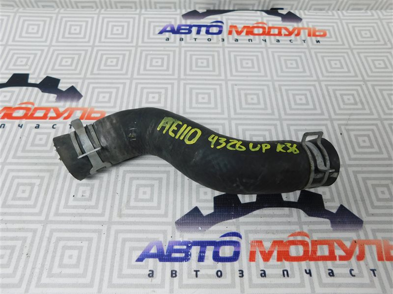 Патрубок радиатора Toyota Sprinter AE110-3016653 5A-FE 1999 верхний
